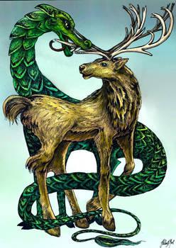 Dragon Deer