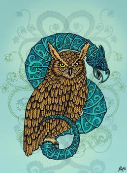 Owl and Basilisk