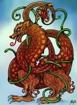 Norse Braided Dragon