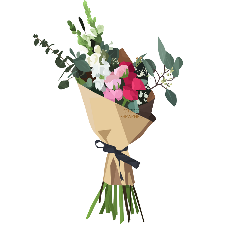 Resources] Bouquets Flower Vector PNG by C12DG on DeviantArt