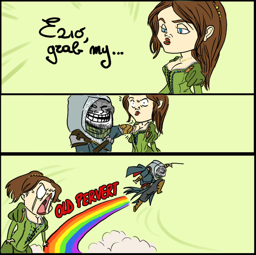 Ezio, grab my... by ufficiosulretro