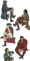 :doodles: American Templars by ufficiosulretro