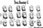 :expressions sheet: Jack Aubrey by ufficiosulretro