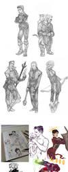 :sketchdump_025: Age of the Dragon by ufficiosulretro