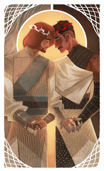 :tarot: The Lovers