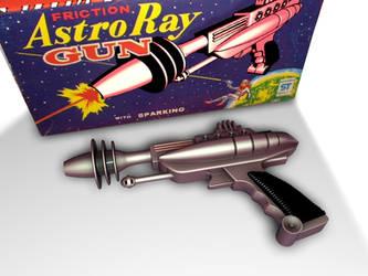 Astro Ray Gun by tombernard