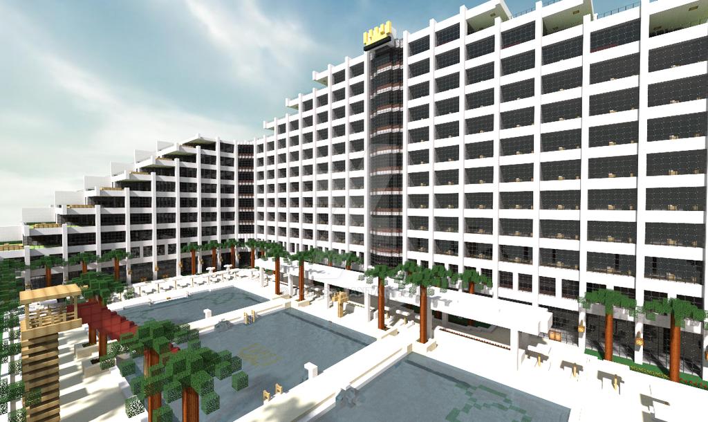 Minecraft Hotel By N417 On Deviantart