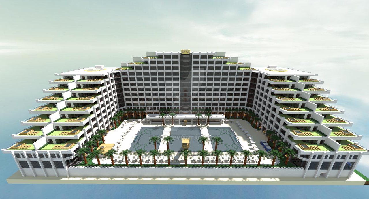 Hotel Designs minecraft hoteln417 on deviantart