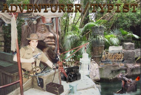 AdventuerTypist by applescruff
