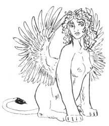 Sphinx Greek by applescruff