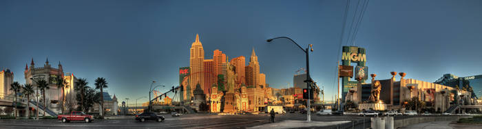 Tropicana and Las Vegas Blvd. by sciph