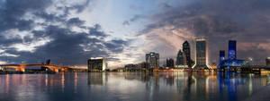 Jacksonville, Florida Panorama