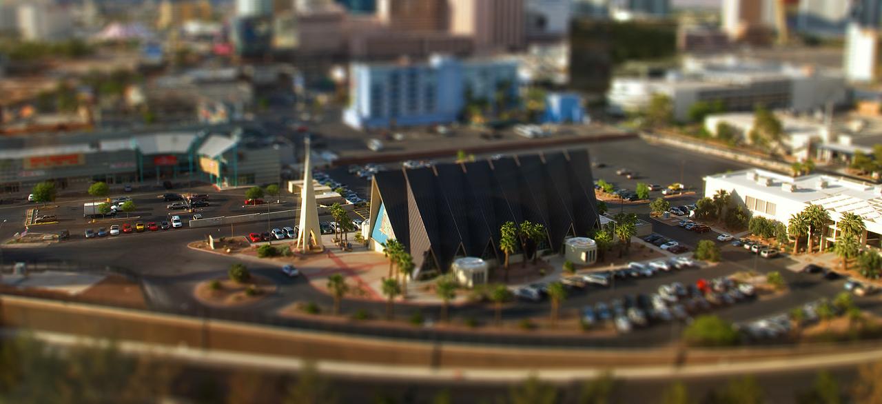 Las Vegas Tilt Shift by sciph