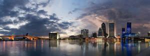 Jacksonville Skyline Pano v2