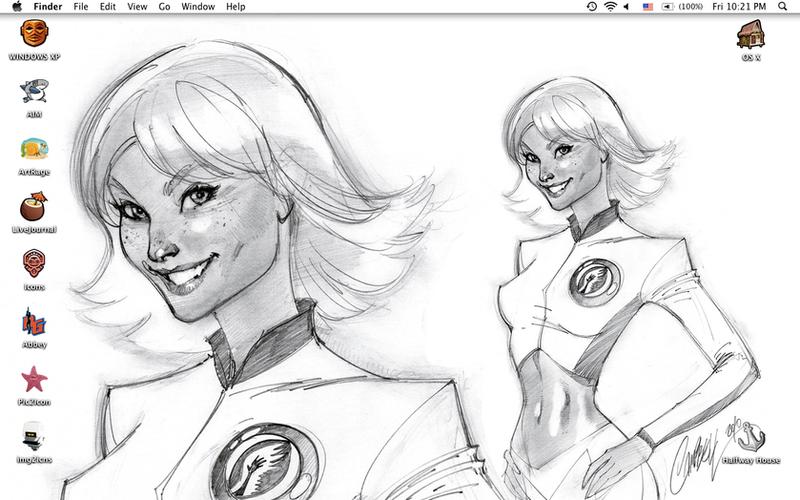 Current Desktop by jesspark