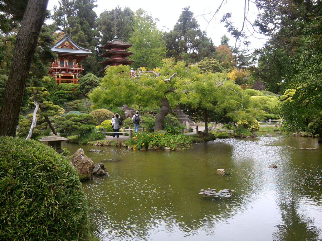 San francisco japanese tea garden 39 s central area by zuion - Japanese tea garden san francisco ...