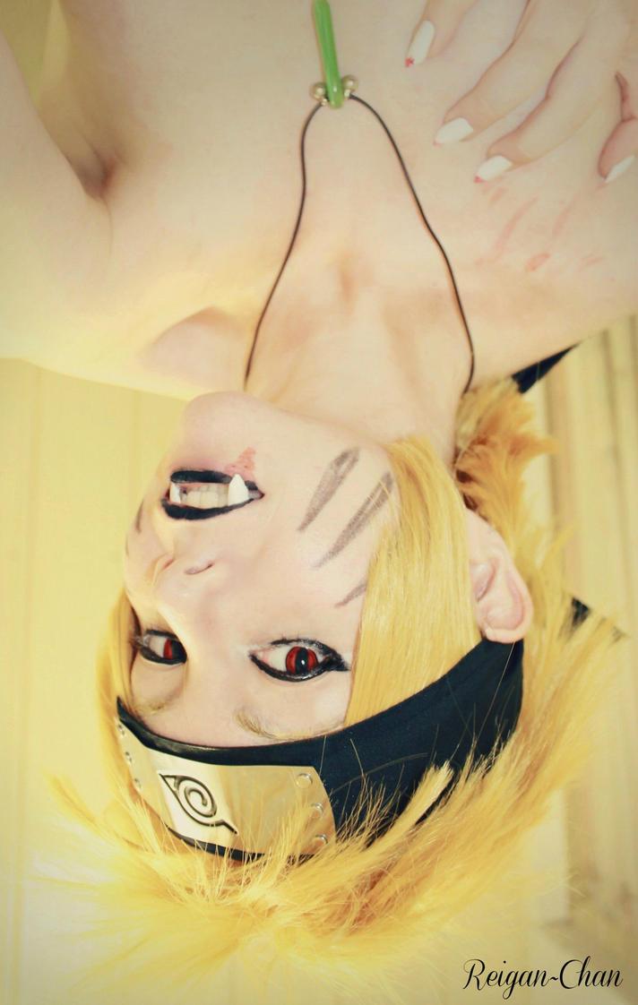 Naruto nine tails cosplay