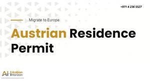 Austria Residence Permit