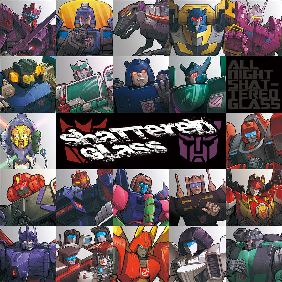 SG characters by zibanitu6969