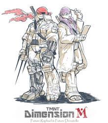 TMNT Dimension M The Closed Future by zibanitu6969