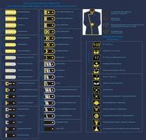 German-based space navy rank system