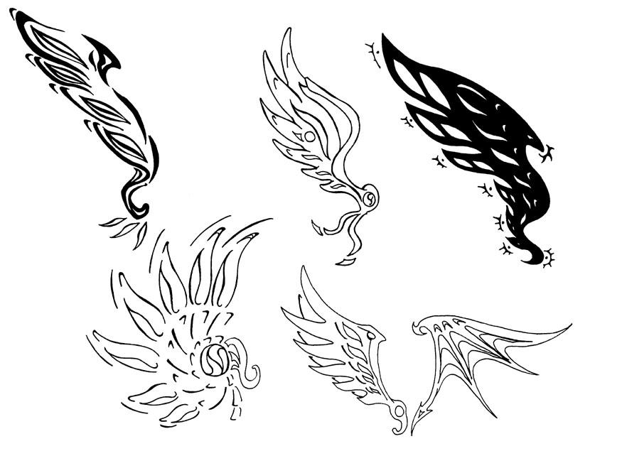 Tatoo design wings by Pepius on deviantART