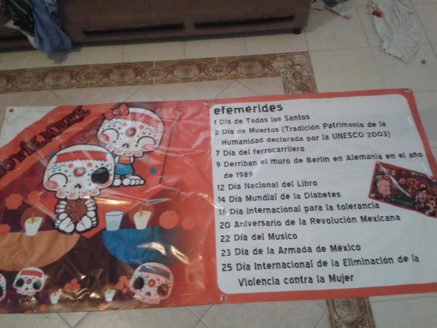 Lona para periodico mural escolar by ceeliimonrdz on for Diario mural escolar