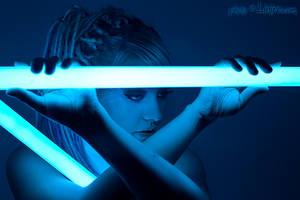 Neon Portrait 2 by Linire
