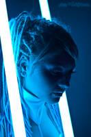 Neon Portrait 1 by Linire