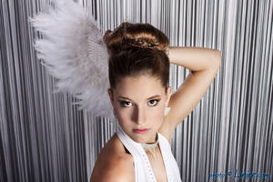 White Feathers 5 by Linire