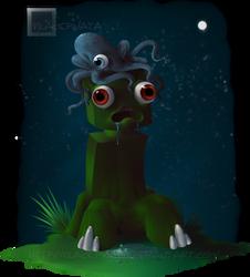 Creepers- The squid eats a brain. by BlackPinata