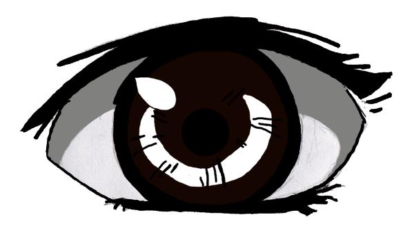 Brown eye by Ihabia