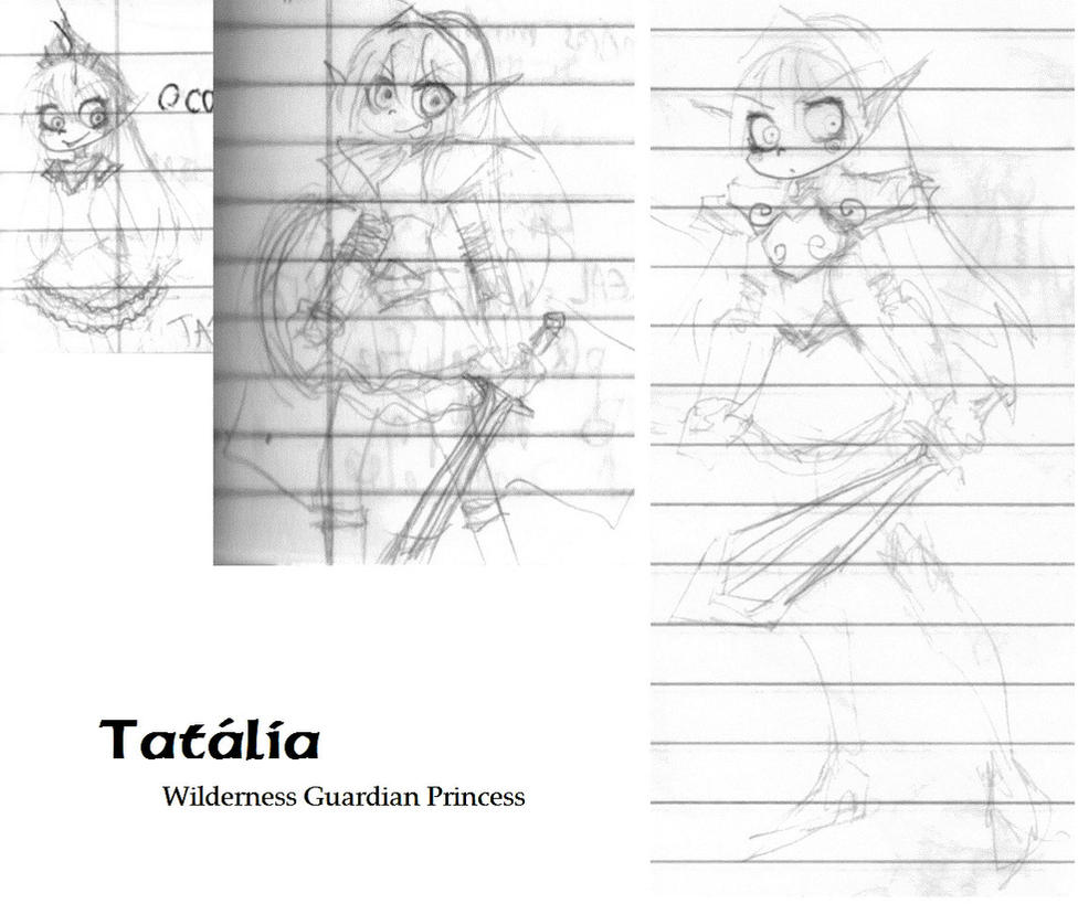 [Chevalier Dota] estudos diversos Tatalia__chevalier_dota__by_moonlance-d60hj2v
