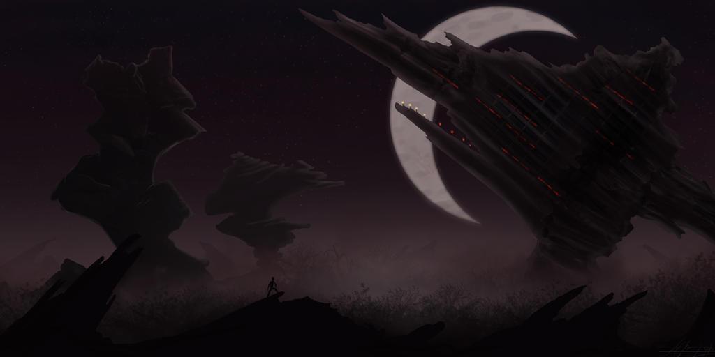 Alien Moon by crysalla