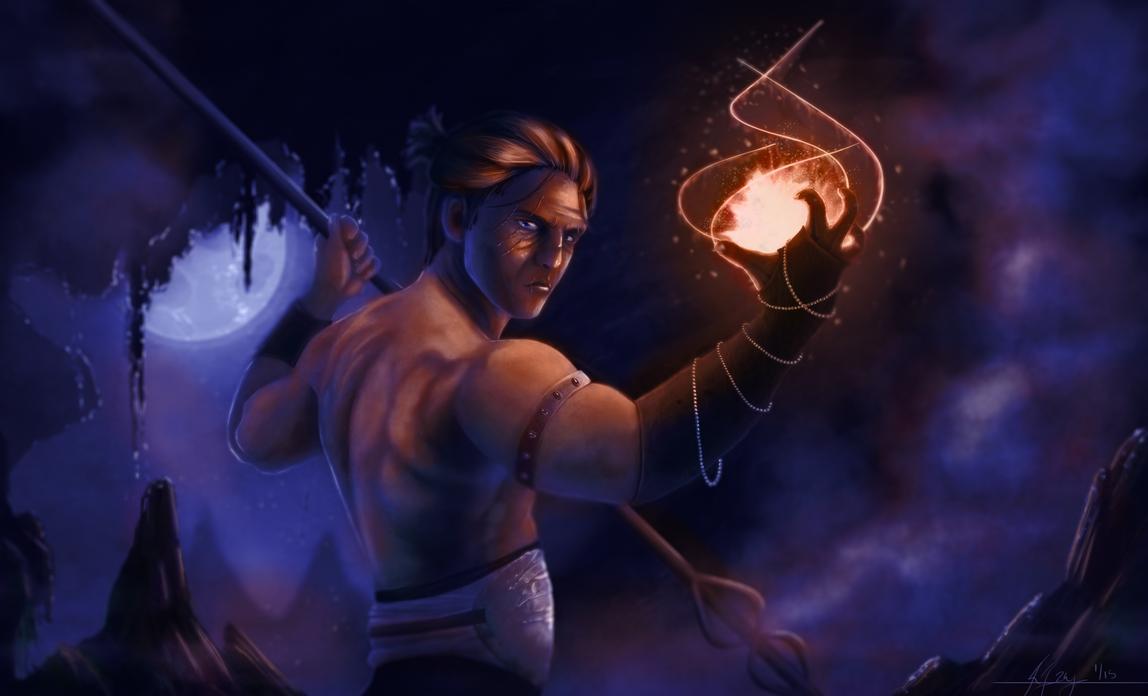Outcast Odyssey: Warlock by crysalla