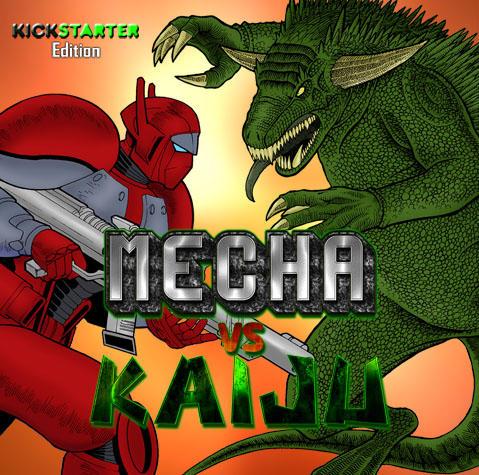 MvKickstarter Logo by MechaVsKaiju
