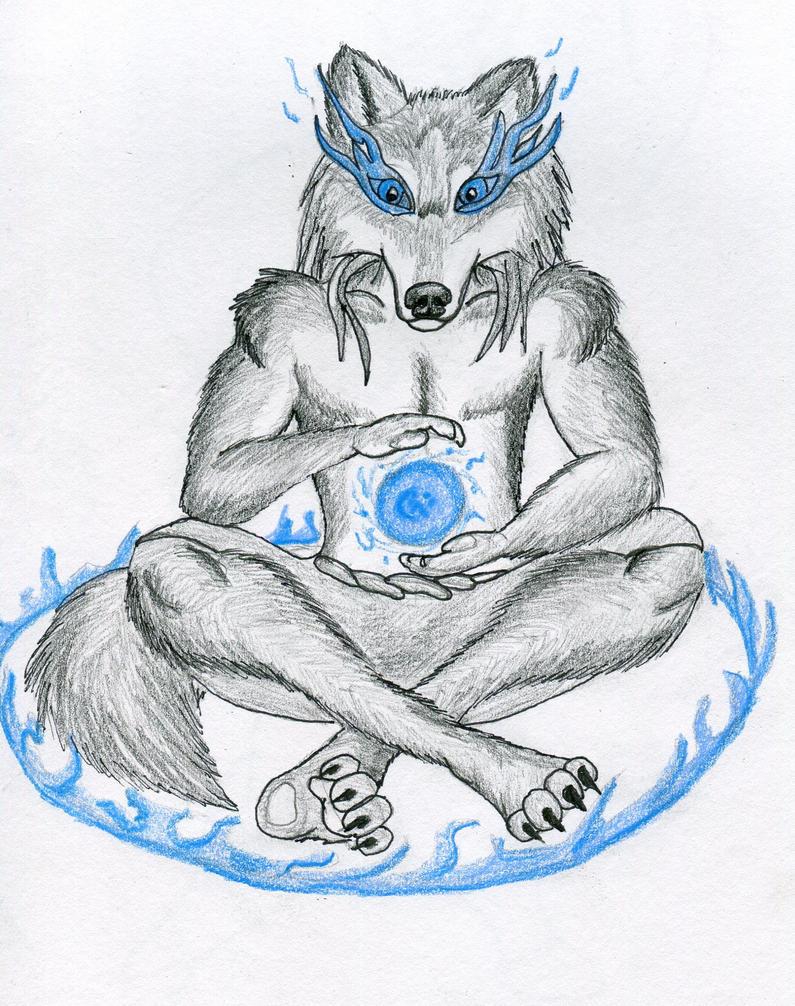 Wolven meditation by Marrok-Milliardo