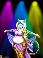 Tigress Belly Dancer by MarroksArtStudio