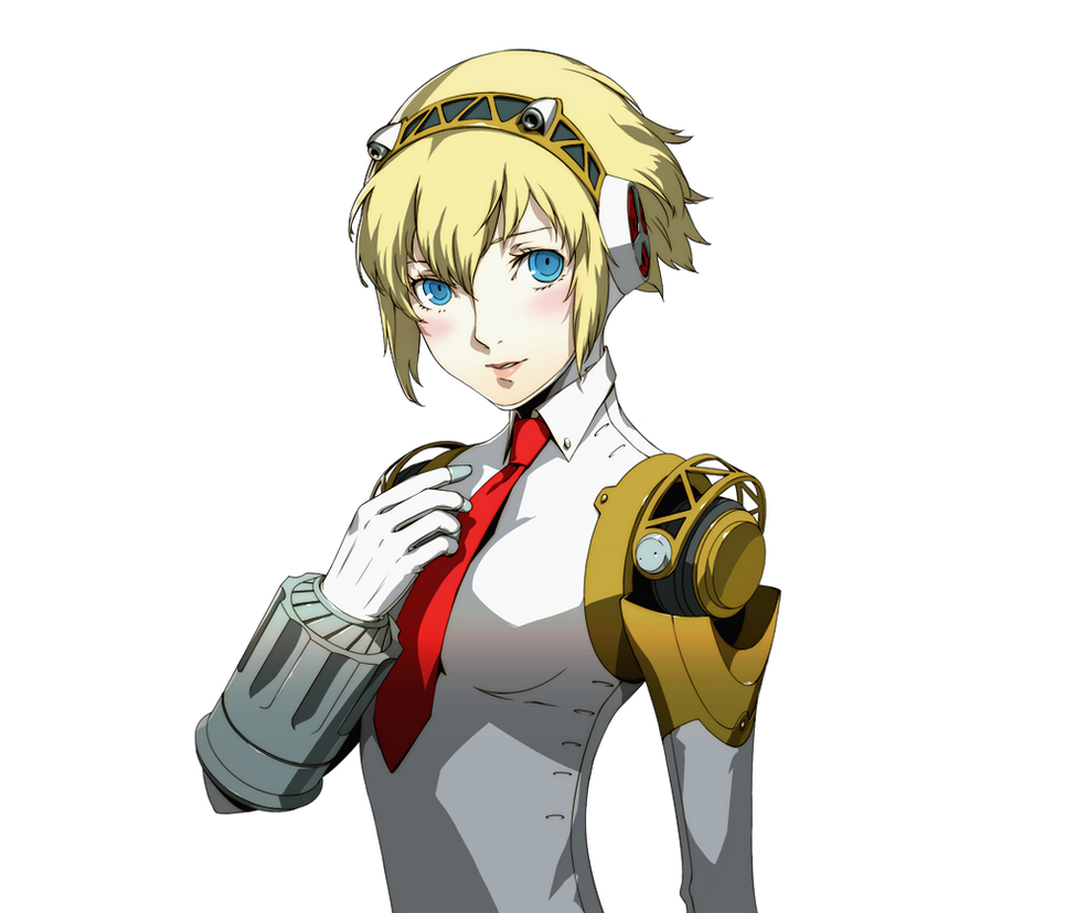 Aigis x Male!Reader - Shine On, You Crazy Diamond by popdood