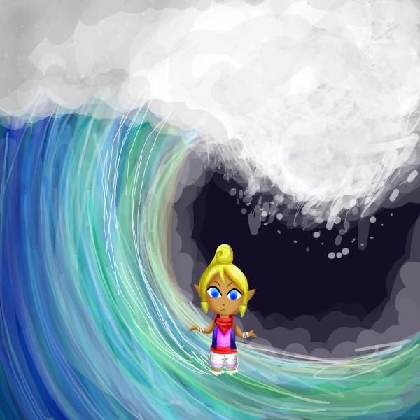 Catch My Wave by mechubear