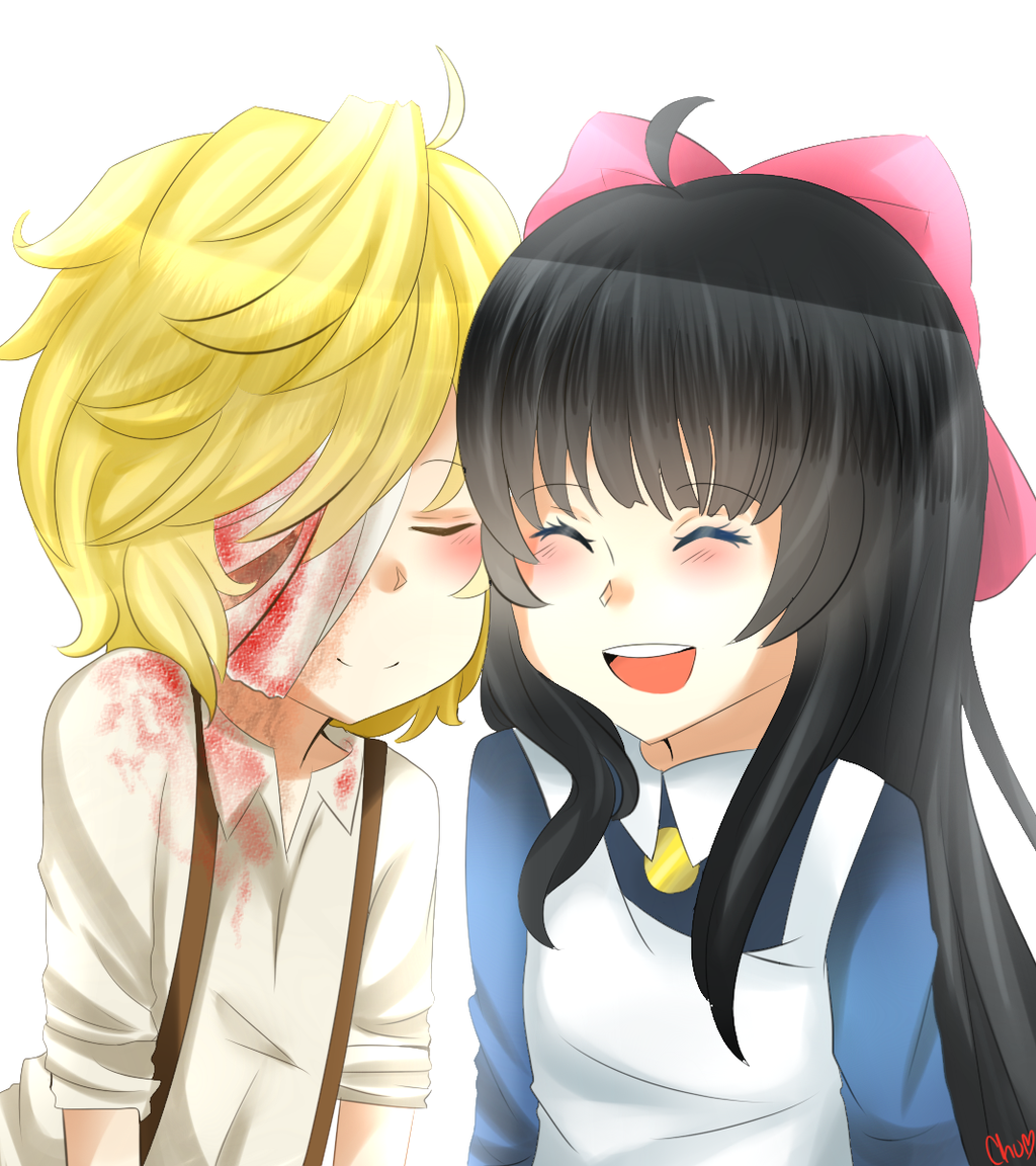 Dio and Aya by mechubear