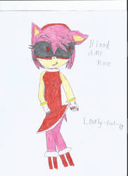 Blood Amy Rose by Lovely-Girl-10