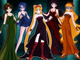 Wicked Sailor Scouts