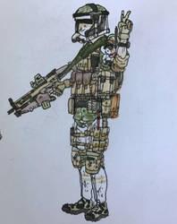 ''Darren'' - 71st CCT squad - Grenadier