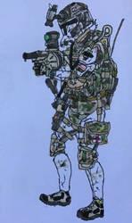 ''Barricade'' - 2/75th ranger regiment - Grenadier