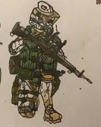 ''Thrash'' - 3rd SFG - Marksman/Scout