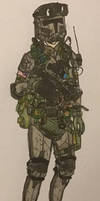 ''Drift'' - 18th Marine Division - Support Gunner