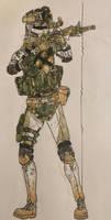 ''Bandit'' - MARSOC - Support Rifleman