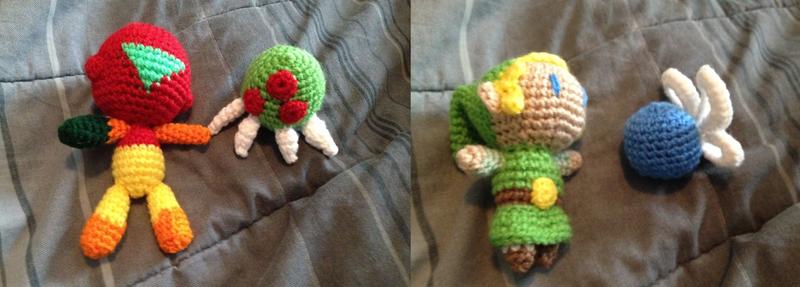 Crochet Dump: Stuffies Part 2 by SakuraMota