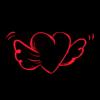 Flying Heart by CydneyX